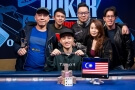 Chin Wei Lim vítězí ve €100,000 Diamond High Rolleru WSOP Europe