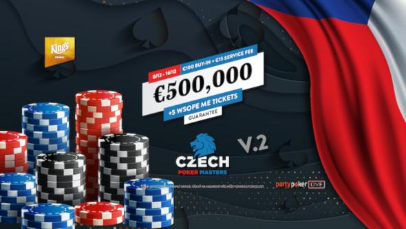 Czech Poker Masters o €551,750 je tady