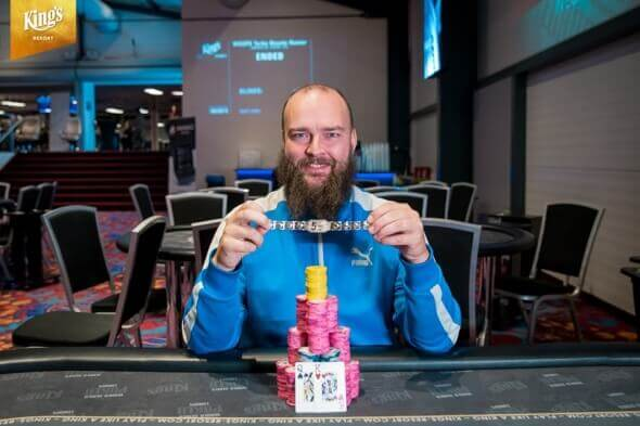 Tomáš Fára vítězí v Turbo Bounty Hunter WSOP Europe