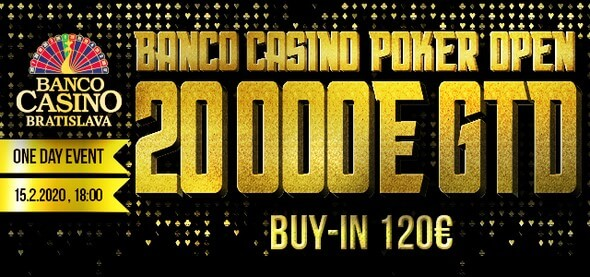 Banco Casino Poker Open