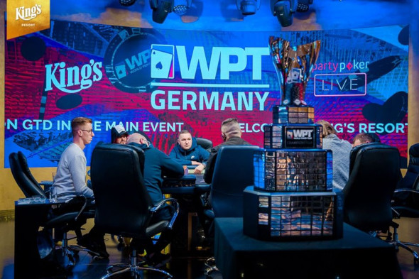 Živě: Finále World Poker Tour Germany o €270,000