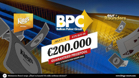 Balkan Poker Circuit tento týden garantuje dokonce €200,000