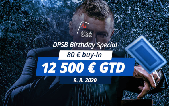 DPSB Birthday Special garantuje v Grand Casinu €12,500