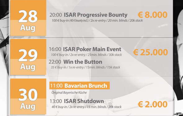 Program Isar Poker Festivalu