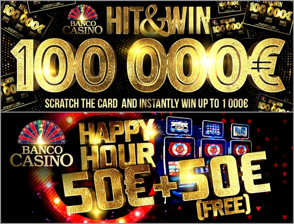 Banco Casino - Happy Hour Hit and Win
