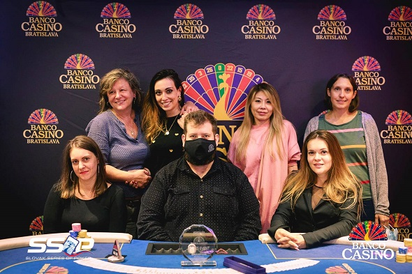 Final table SSOP Ladies Eventu